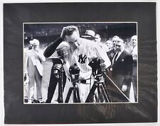 Lou Gehrig Farewell Speech Photo Reproduction Baseball Hall of Fame Collection 1