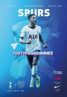 Tottenham Hotspur v Norwich City Premier League Programme 2019/20 Free UK  Post