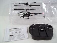 Falcon Helicopter by KidsStuff w/Remote Control & Instruction - Silver - Nib!
