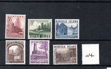 NORFOLK ISLAND  (04) - ELIZABETH - 1953 - set of 6 -  mint - SG Cat £38