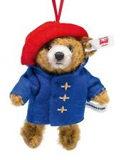 Steiff Paddington Bear Jointed Chestnut Mohair Hanging Ornament 11cm 690396 New
