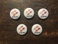 Lot of 5 KONAMI Logo Buttons Pins, Pinback Badge Collectible Retro Game, 8 Bit