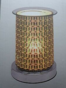Desire Touch Sensitive Tube Aroma Lamp 16cm - Geometric For Wax and Oil Burning