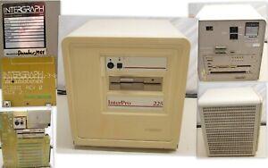 Rare Museum Item Intergraph InterPro 225 Clipper Vintage Workstation