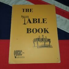 Vintage Magic Tricks Stage Illusions Instructions Books - The Table Book Plans
