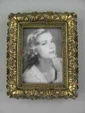Bilderrahmen Fotorahmen im Rokoko Barock Stil - Antik Gold farben - 25,5x20,5 cm