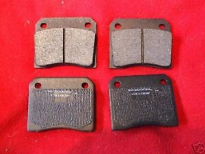 FIAT 1600s 1800s 1500 2300      REAR BRAKE PADS SET     (1961- 69)