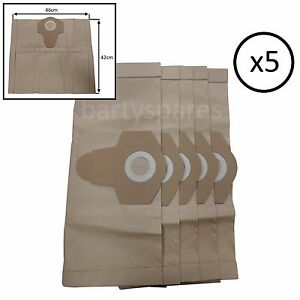 16L 20L 30L 40L5 pack Vacuum Cleaner BagsPaper Dust Filter Hoover Bag