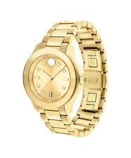MOVADO Bold Sport Yellow Gold IP Bracelet Watch #3600416  $595    NEW