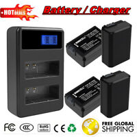 1500mAh NP-FW50 Battery / Charger For Sony Alpha A6000 A6300 A3000 A7r Camera EG
