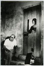Sophia Loren & Director Francesco Rosi 1967 Large More Than a Miracle Photograph