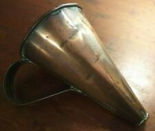 More details for collectable antique copper ale wine muller warmer - holds 3 pints