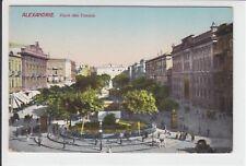 AK Alexandria, Egypt, Place de Consuls, 1910