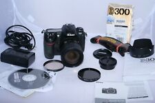 Nikon D300 12.3MP Digital SLR Camera with Nikkor AF-S DX 18-70mm f3.5-4.5 lens.