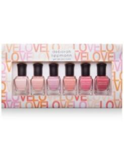 Deborah Lippmann Make Me Blush Gel Lab Pro Color Nail Polish Set of 6
