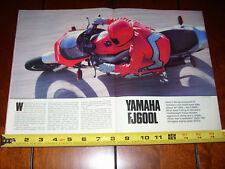 1984 YAMAHA FJ600L - ORIGINAL ARTICLE FJ 600