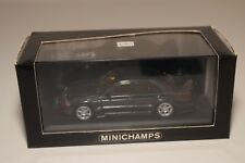 F MINICHAMPS MERCEDES-BENZ 190E 190 E 2.3-16 1984 BLUE BLACK MET. MINT BOXED
