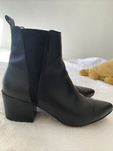 Tony Bianco Siren Ankle Boots Size 38 / AU 7.5