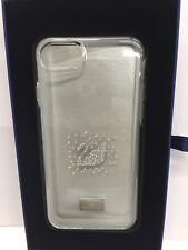 Swarovski  Case for iPhone 8 / 7 / 6 - Silver / transparent - Clear - Brand New