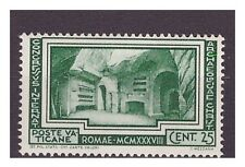 VATICANO 1938 -  ARCHEOLOGIA CRISTIANA  Cent. 25   NUOVO **