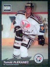 TOMAS PLEKANEC  00/01 AUTHENTIC FIRST CZECH PRE-ROOKIE CARD