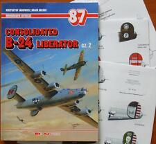 Consolidated B-24 LIBERATOR pt.2 - AJ-Press Rare!