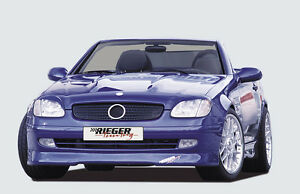 Rieger Spoilerlippe Spoiler passend für Mercedes SLK R170 bis BJ 2000 - 00070002