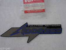 New Suzuki AD50 Leg Shield Emblem ( Fulltime network address ) 68641-29D30-1CL