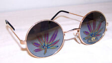 12 pair POT LEAF REFLECTION SUNGLASSES eyewear glasses