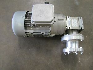 NEW NORD SK 90SH/4 TW 1.5HP 1.5 HP GEARMOTOR MOTOR GEARBOX 15:1 RATIO 460V 3PH