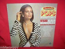 KLAUS WUNDERLICH Pops 2 Hammond Organ LP 1976 ITALY EX SEXY Cov. ABBA Mamma mia
