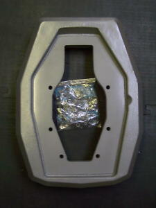 VOLVO PENTA SX-A DPS-A TRANSOM SHEILD ADAPTER 3889814