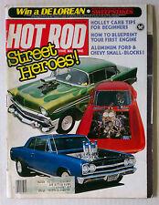 HOT ROD MAGAZINE VINTAGE 1982 FEBRUARY CORVETTE  CHEVY FORD MOPAR GM RACING