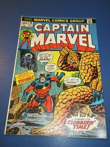 Captain Marvel #26 Bronze age 1st Thanos Cover Jim Starlin Wow VGF Key
