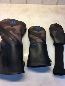 Callaway Camo Limited Edition Headcover Set