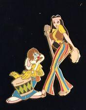 DisneyShopping com - Roger & Jessica Rabbit Rock & Roll Series Le Pin Moc