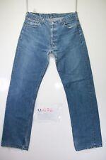 Levi's 501 Boyfriend (Cod. M1476) tg50 W36 L34 jeans usato Vita Alta vintage