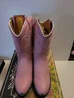Durango boots  girls size 2.5 D pink new in box.