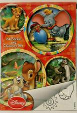 Malbuch mit Stickern++/Dumbo / König der Löwen u.a.++Disney++neu++ unbeschrieben