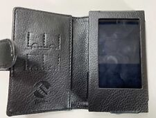 TUFF LUV Faux Leather Case Cover for FiiO Bluetooth M7 Mp3 (1st Gen) - Black