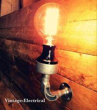 INDUSTRIAL BAKELITE WALL LIGHT FITTING VINTAGE LAMP PUB STEAMPUNK BAR RESTAURANT