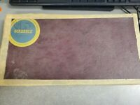 Vintage 1953 Selchow & Righter Scrabble Board Game nearly complete missing 1 E.