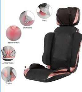 CO-Z 60W Massage Chair Cushion W/ 20 Nodes For Men & Women New Without BOX
