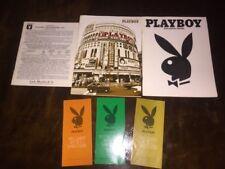 Playboy Initial Stock Prospectus & Annual Reports Form 1975 & '76 + Quarterlies