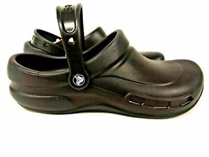 CROCS Bistro Shoe  Slip Resistant Waterproof Nurse Kitchen Work MENS 5 WOMENS 7