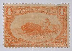 TRAVELSTAMPS:1898 US Stamps Scott #287, 4 Cent Denomination Mint NG