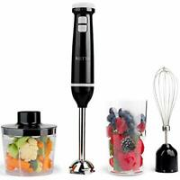 3 in 1 Hand Blender, Whisk and Mini Chopper with 700ml Beaker | Powerful