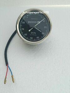 SMITHS SPEEDOMETER ODOMETER MILEAGE METER 80 Mph British bike Speedometer Replic