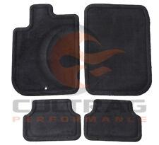 2005-2010 Cobalt G5 Pursuit GM Front & Rear Carpet Floor Mats Ebony 15296507