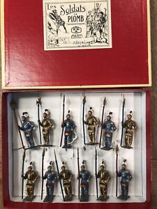CBG Mignot: Boxed Set - 14th Century Knights  Post War c1970